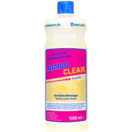 DREITURM Sanitär-Kraftreiniger AMIDOCLEAR, 1 Liter