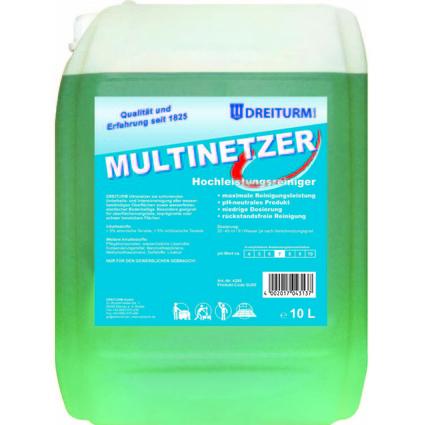 DREITURM Hochleistungsreiniger MULTINETZER, 10 Liter
