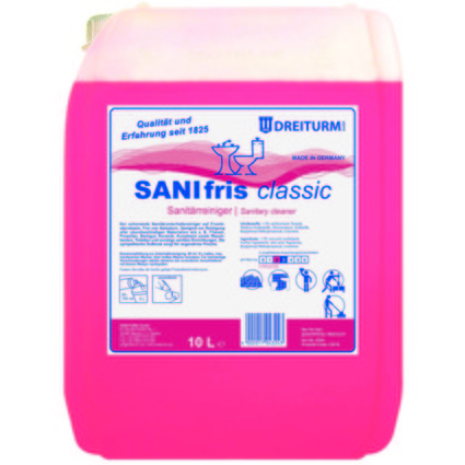 DREITURM Sanitärreiniger SANIFRIS classic, 10 Liter