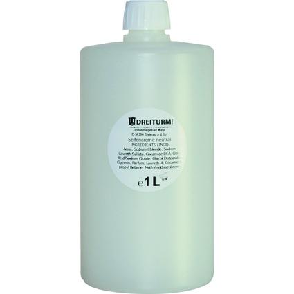 DREITURM Handwaschseife neutral, 1 Liter, Rundflasche
