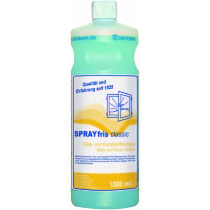 DREITURM Glasreiniger SPRAYFRIS classic, 1 Liter