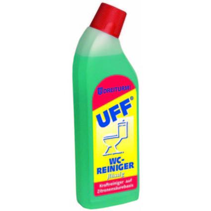 """DREITURM WC-Reiniger """"UFF"""", 750 ml Knickhalsflasche"""