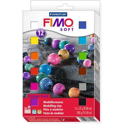 FIMO SOFT Modelliermasse-Set, 12er Set