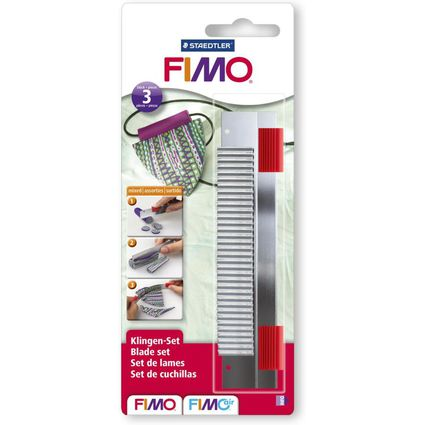 FIMO Cutter, 3-teiliges Messer-Set für Modelliermasse