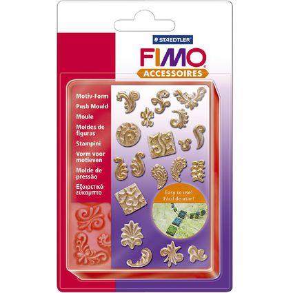 """FIMO Motiv-Form """"Ornamente"""", 19 verschiedene Motive"""