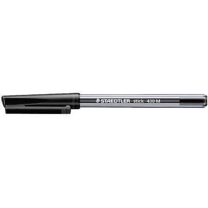 STAEDTLER Kugelschreiber stick 430, Strichfarbe: schwarz
