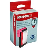 Kores tinte G1522M ersetzt brother LC-980M/LC1100M, magenta