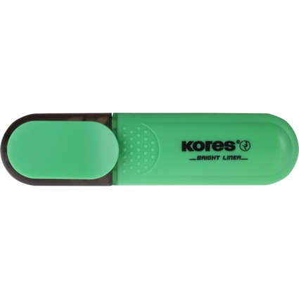 """Kores Textmarker """"BRIGHT LINER"""", Farbe: grün"""