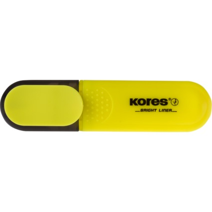 """Kores Textmarker """"BRIGHT LINER"""", Farbe: gelb"""