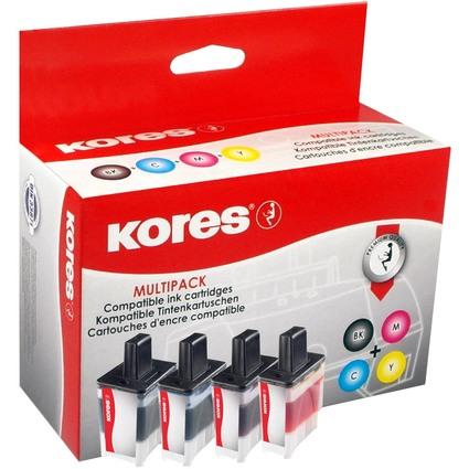 Kores Multi-Pack Tinte G1034KIT ersetzt brother LC-900BK/