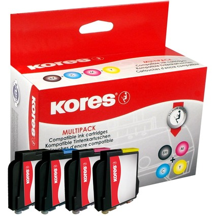 Kores Multi-Pack Tinte G1060KIT ersetzt brother LC-970BK/