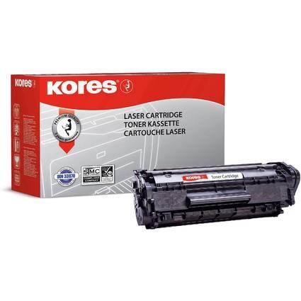 Kores Toner G1114HCRB ersetzt hp Q2612A, schwarz, HC