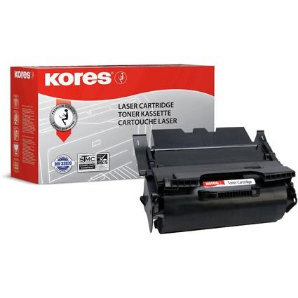 Kores Toner G1174XLRB ersetzt LEXMARK 64436HE, schwarz, HC
