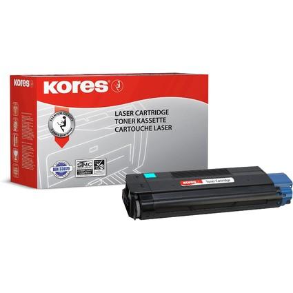 Kores Toner G1195B ersetzt OKI 42127407, cyan