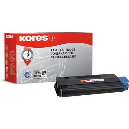 Kores Toner G1195S ersetzt OKI 42127408, schwarz