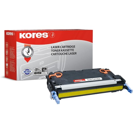 Kores Toner G1205RBGE ersetzt hp Q7582A/Canon 711Y, gelb
