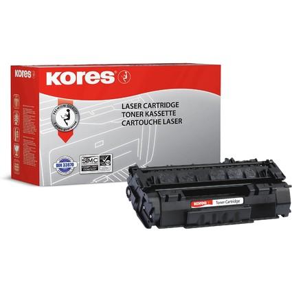 Kores Toner G1207RB ersetzt hp Q7553A/Canon 715, schwarz