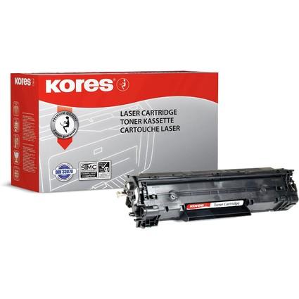Kores Toner G1211HCRB ersetzt hp CB436X, schwarz - XL