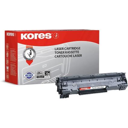 Kores Toner G1211RB ersetz hp CB436A, schwarz