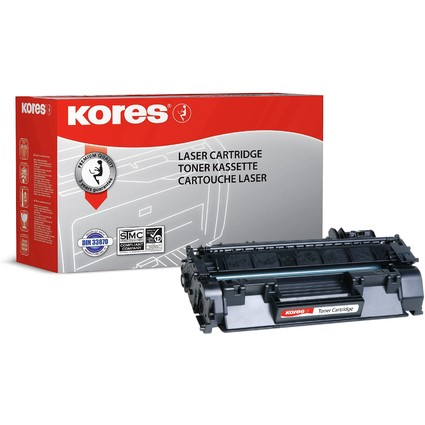 Kores Toner G1217RB ersetzt hp CE505A/Canon 719H, schwarz
