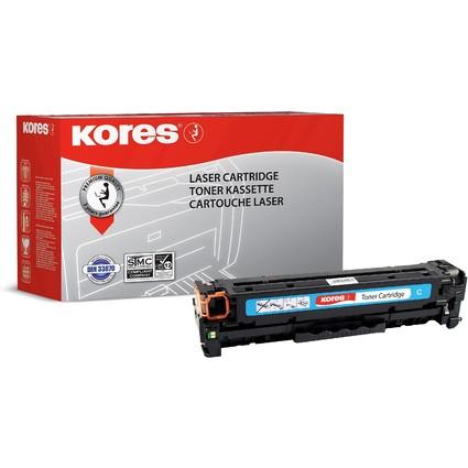 Kores Toner G1218RBB ersetzt hp CC531A/Canon 718C, cyan