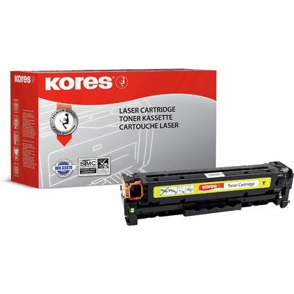 Kores Toner G1218RBG ersetzt hp CC532A/Canon 718Y, gelb