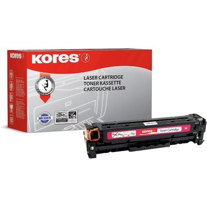 Kores Toner G1218RBR ersetzt hp CC533A/718M, magenta