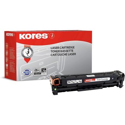 Kores Toner G1218RBS ersetzt hp CC530A/Canon 718BK, schwarz