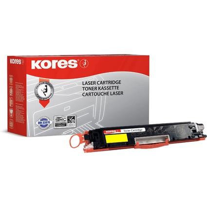Kores Toner G1226RBG ersetzt Canon 729Y/hp CE312A, gelb