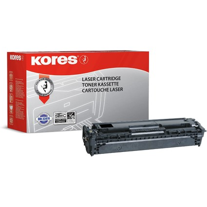 Kores Toner G1227RBS ersetzt hp CE320A, schwarz