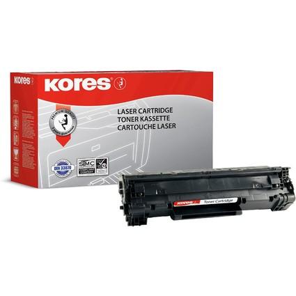 Kores Toner G1230RB ersetzt hp CE278A, schwarz