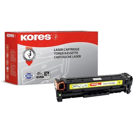 Kores Toner G1233RBG ersetzt hp CE412A, gelb