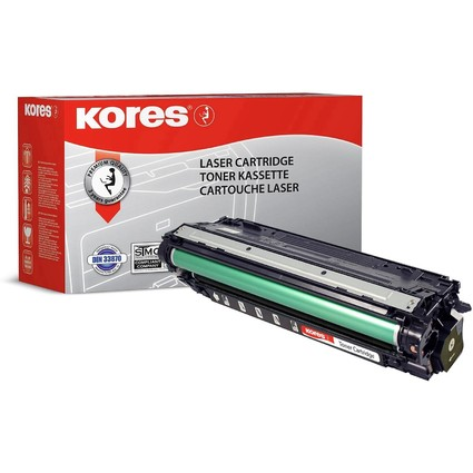 Kores Toner G1234RBS ersetzt hp CE270A, schwarz