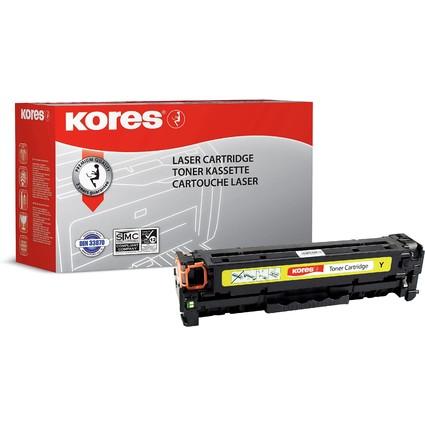 Kores Toner G1236RBG ersetzt hp CF212A, gelb
