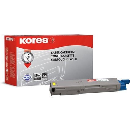 Kores Toner G1321RBG ersetzt OKI 43459329, gelb
