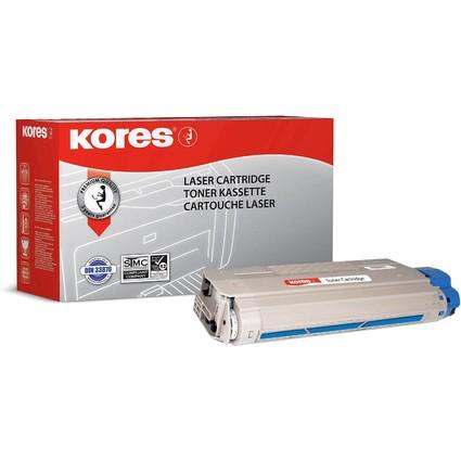 Kores Toner G1323RBB ersetzt OKI 43381907, cyan
