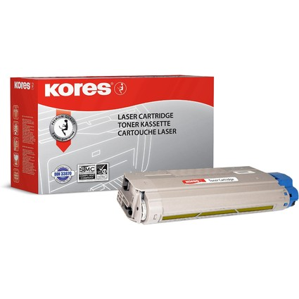 Kores Toner G1323RBG ersetzt OKI 43381905, gelb