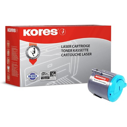 Kores Toner G1352RBB ersetzt SAMSUNG CLP-C300A, cyan