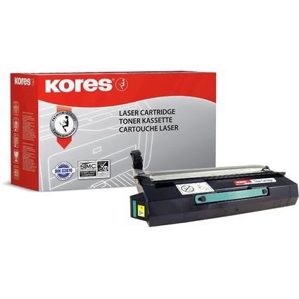 Kores Toner G1378RBG ersetzt LEXMARK 12N0770, gelb