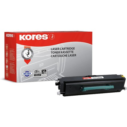 Kores Toner G1381XLRB ersetzt LEXMARK E460X21E, schwarz