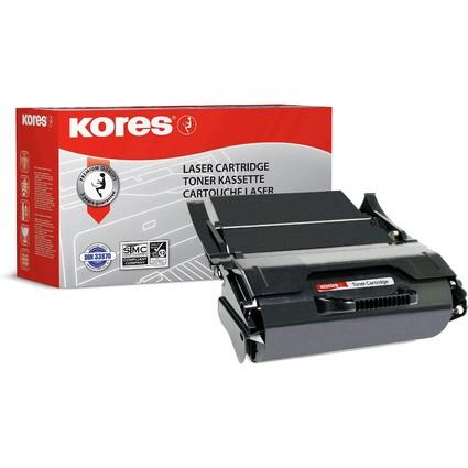 Kores Toner G1382XLRB ersetzt LEXMARK 0T654H11E, schwarz, HC