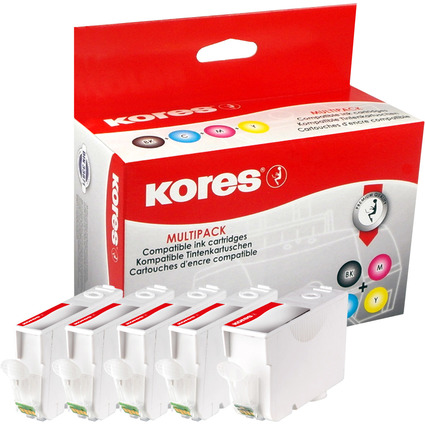 Kores Multi-Pack Tinte G1503KIT ersetzt Canon PGI-5BK/