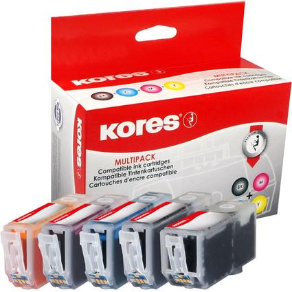 Kores Multi-Pack Tinte G1513KIT ersetzt Canon PGI-525BK/