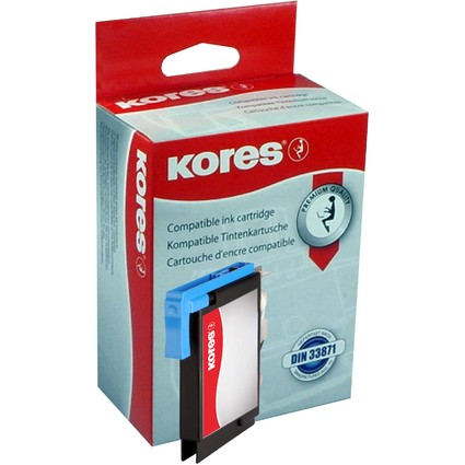 Kores Tinte G1522C ersetzt brother LC-980C/LC1100C, cyan