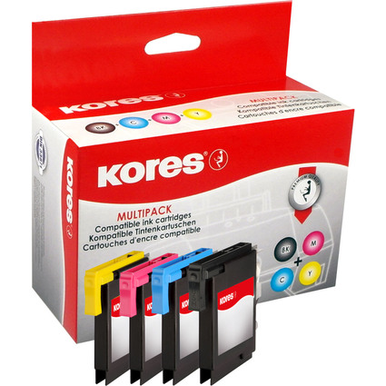 Kores Multi-Pack Tinte G1523KIT ersetzt brother LC-985BK/