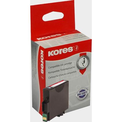 Kores Tinte G1603BK ersetzt EPSON T0611, schwarz