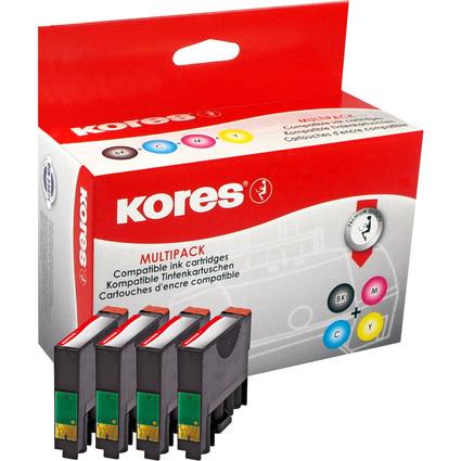 Kores Multi-Pack Tinte G1622KIT ersetzt Epson T1811-T1814
