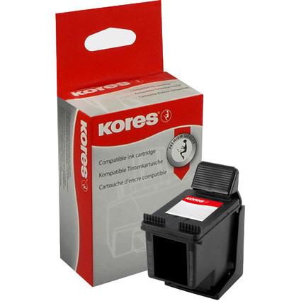 Kores wiederbefüllte Tinte G1711BK ersetzt hp CC654AE/