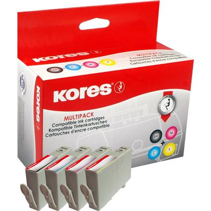 Kores Multi-Pack Tinte G1712KIT ersetzt hp CN684EE/CB323EE/