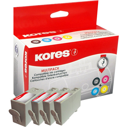 Kores Multi-Pack Tinte G1717KIT ersetzt hp CD975AE/CD972AE/